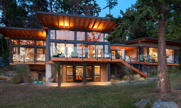 Cette maison en pleine nature est vraiment INCROYABLE!!