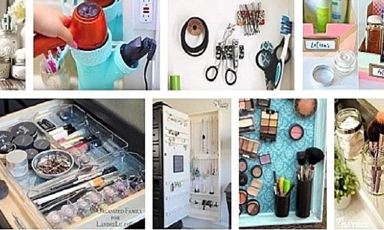 Mettez fin au cafouillis dans la salle de bain avec ces 20 DIYs super écono pour ranger toutes vos bricoles