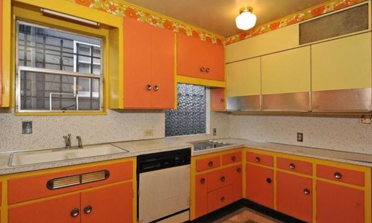 Souvent Bye bye cuisine orange et chambre rose. Cette maison des années 70  IK52