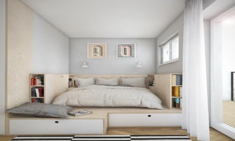 12 bonnes idées pour aménager une petite chambre tout en créant plus ...