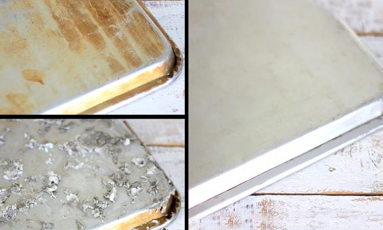 Revitalisez vos vieilles plaques à pâtisserie sans frotter! Oui, c'est vrai, sans frotter!
