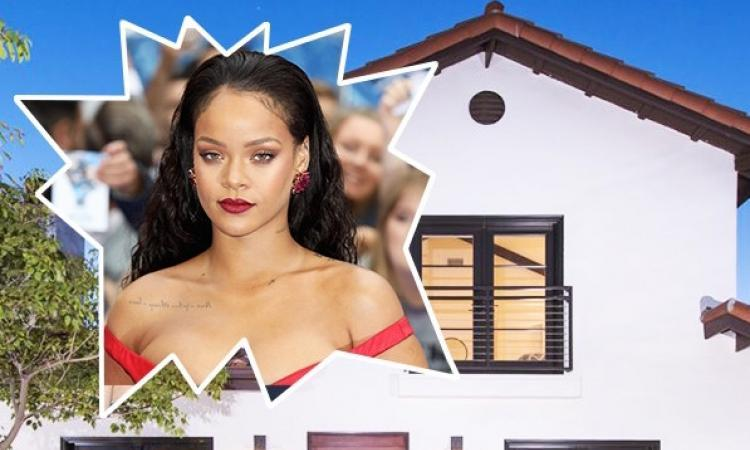 La chanteuse Rihanna vend sa maison de West Hollywood pour 2.85 millions de dollars!